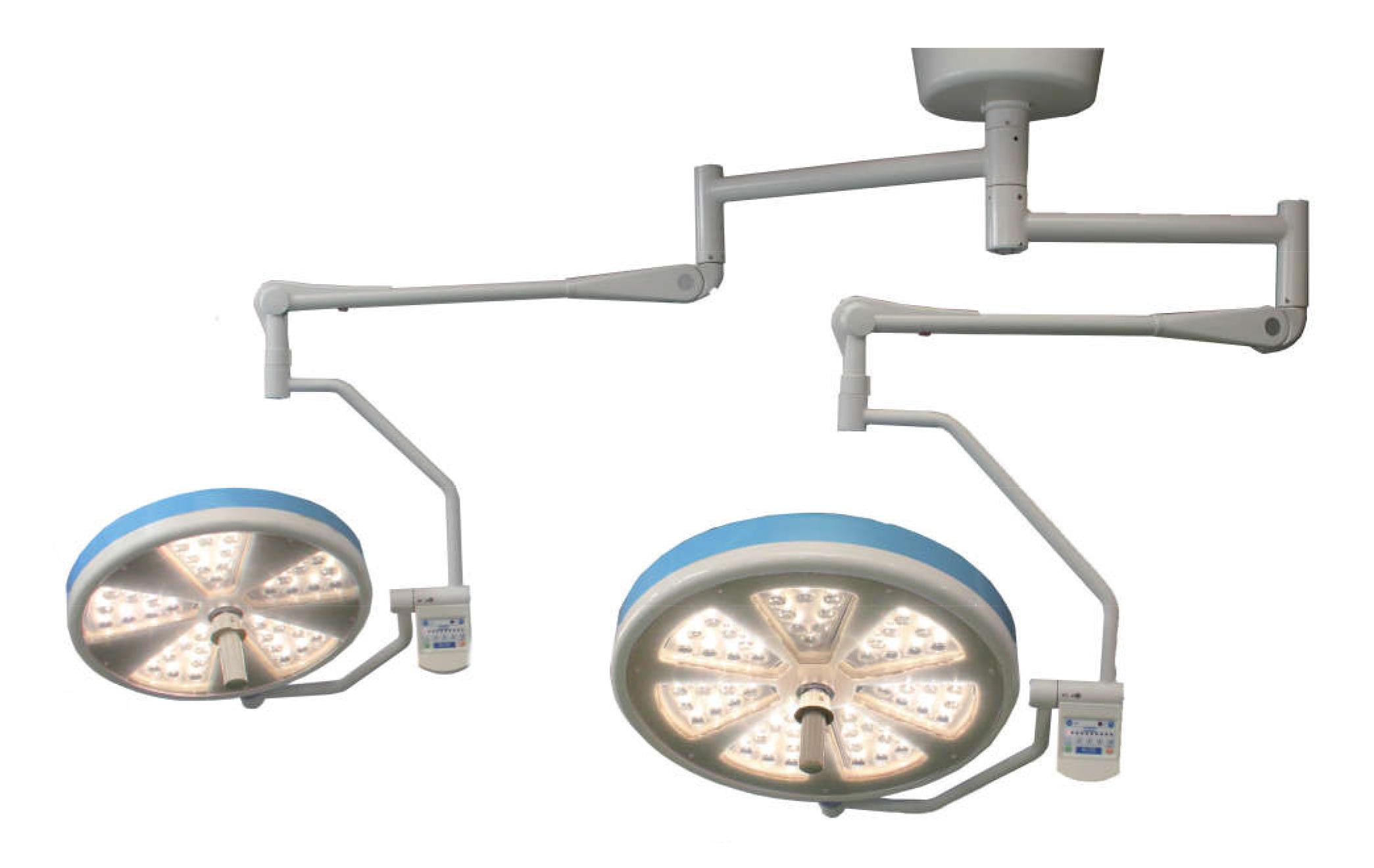 Đèn mổ 02 nhánh SOLARMAX LED 56+40