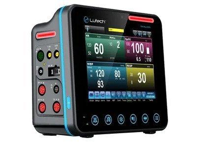 Monitor theo dõi bệnh nhân 5, 6, 7 thông số Datalys 807 (Hàng có sẵn)