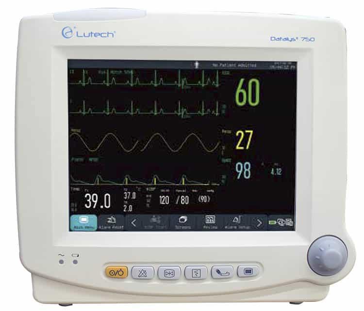 Monitor theo dõi bệnh nhân 5, 6, 7 thông số Datalys 750