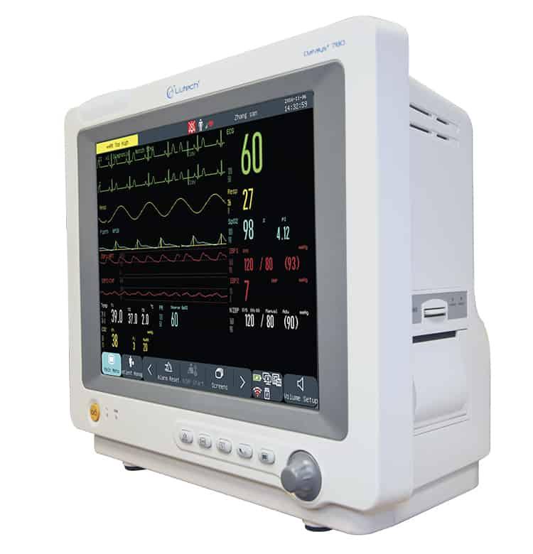 Monitor theo dõi bệnh nhân 5, 6, 7 thông số Datalys 760